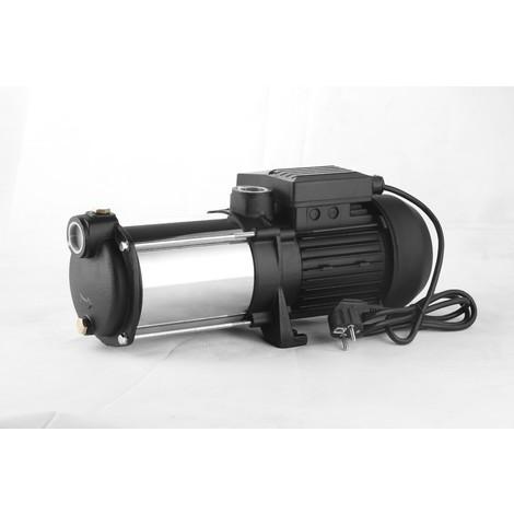 Pompe à eau de surface multicellulaire 5 turbines INOX 1350W