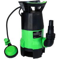 Pompe à eau électrique/immergée évacuation d'eau sale piscine/bassin/jacuzzi