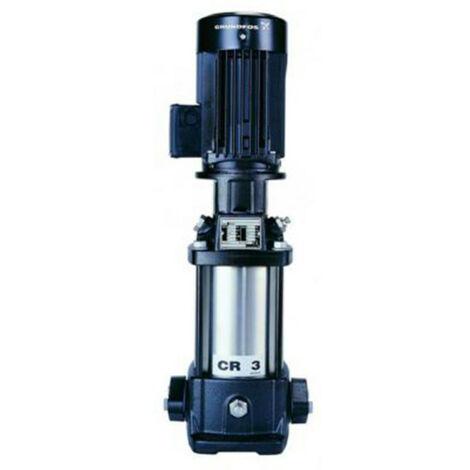 Pompe a eau Grundfos CR3 multicellulaire de 0 à 4 m3/h triphasé 380V