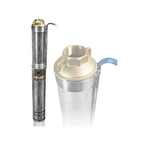 Pompe à eau immergée 1100W pour forage et puits profond