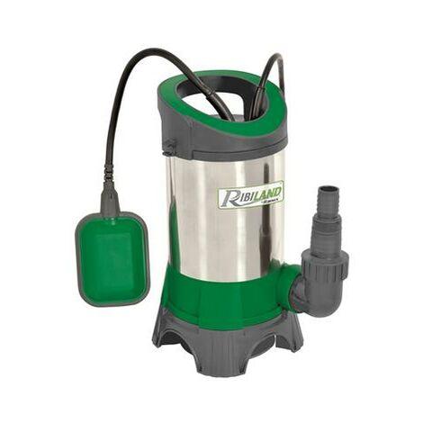 Pompe à eau immergée pour puits 750W inox