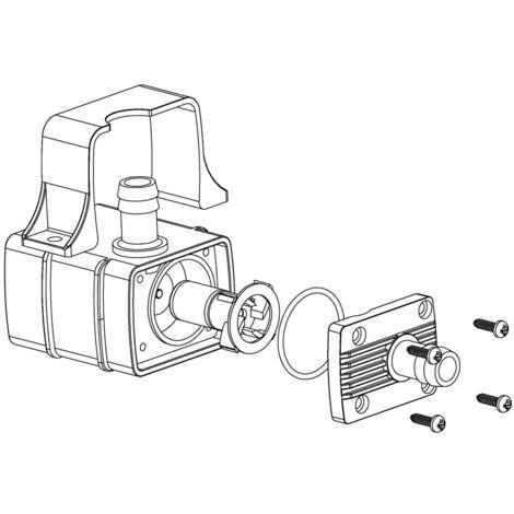 Pompe a eau miniature Anself, pompe de circulation pour aquarium, resistance a la temperature 60 ¡æ