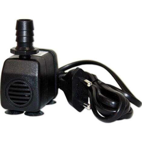Pompe à eau pour aquarium 200 l/h pour aquariums de max 80 litres