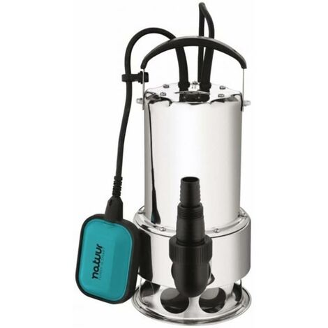 Pompe à eau submersible Eau sale Hauteur de pompe 11Mt 1100W-15100L/H Natuur