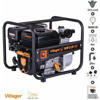 Pompe à eau thermique 212cm3 5,6cv débit 36000 l/h Villager WP36P