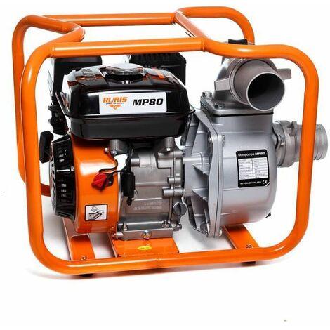 Pompe à eau thermique 7Cv 212cm3 débit 48000 l/h Ruris MP80 raccord 75 mm 3 pouces
