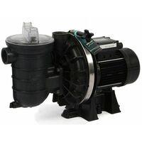 pompe à filtration 0.75 cv 12m3/h mono compatible électrolyse