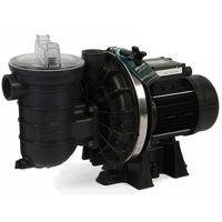 pompe à filtration 1.5 cv 18m3/h triphasé compatible électrolyse - s5p2rf-3e2p - sta rite