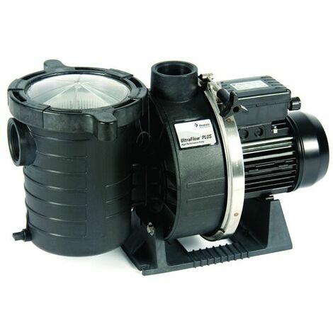 pompe à filtration 3 cv, 30m3/h triphasé - ultraflow 30t - pentair
