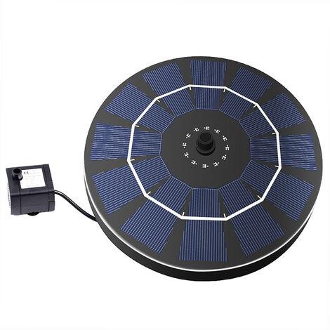 Pompe a fontaine Birdbath a energie solaire