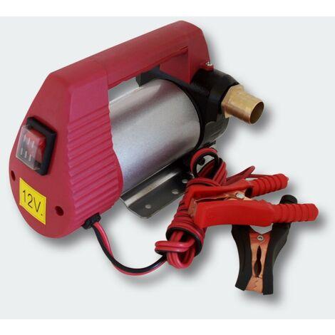 Pompe à Fuel Gasoil bio Autoaspirante 12V/160W 40l/min