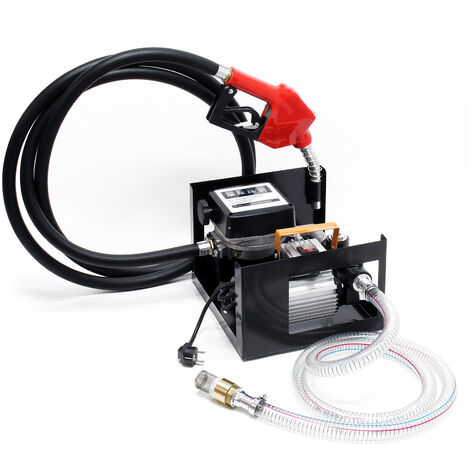 Pompe à Fuel Gasoil bio Autoaspirante 230V/550W 50l/min Pistolet Auto.