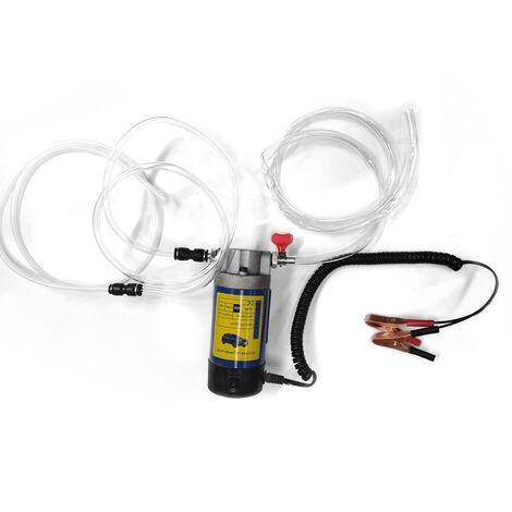 Pompe a huile electrique 12V 100W, pompe d\'extraction d\'huile, pompe a engrenages, changeur d\'huile