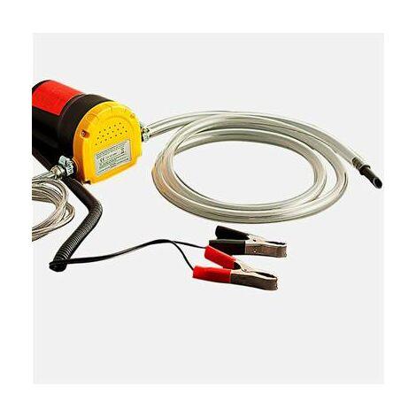 Pompe à huile electrique 12V pour vidange extraction gasoil diesel et liquide