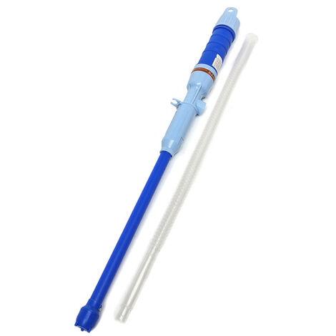 Pompe A Huile Electrique Exterieure Portable Pompe A Essence Pompe A Eau De Transfert De Carburant Liquide D'Aspiration Pompes Transfert Liquides Non Corrosifs, Bleu
