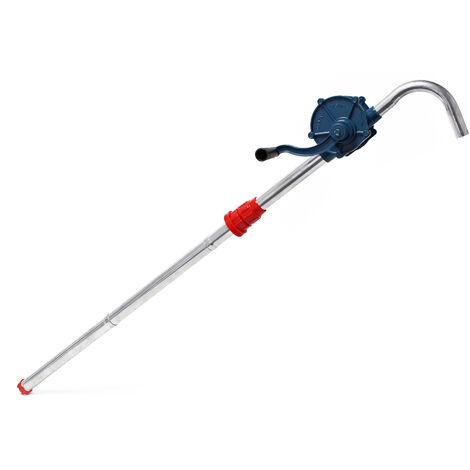 Pompe à Manivelle - Pompe Vide-fût pour Diesel ou Fuel jusqu'à 22l/min avec Raccord pour fût G2