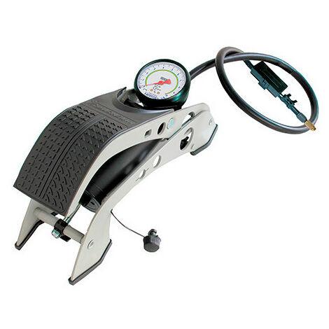 Pompe à pied à manomètre homologué - max. 7 bars - Michelin