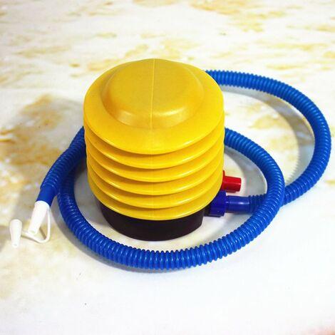 Pompe à Pied Gonflable à Anneau de Natation, Pompe Gonflable à Pied de Piscine pour Enfants BouéE Sauvetage Portable