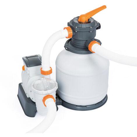 Pompe à sable filtre 58499 Flowclear Bestway de 7570 L/h pour piscine