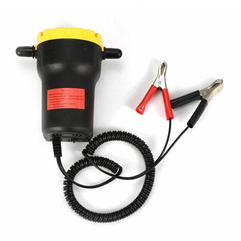 Pompe à vidange 12V 60W Huile/petrole Brut Extracteur de puisard Liquide Scavenge Echange + Tubes