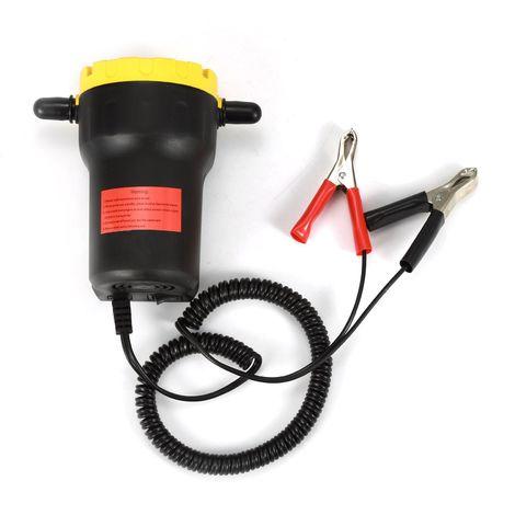Pompe à vidange extraction huile diesel aspiration vidange auto huile 12V 80W