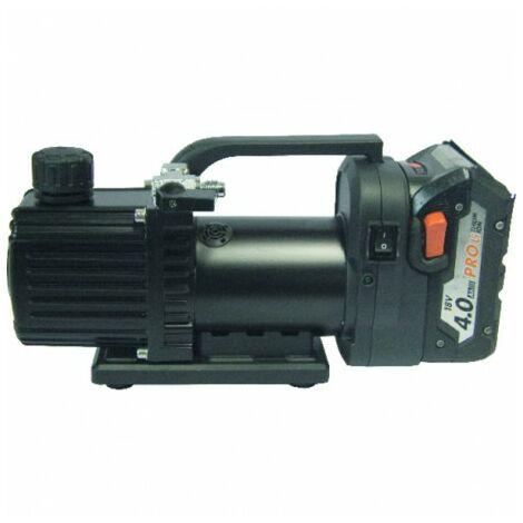Pompe à vide 1 étage 27l/min sur batterie - GALAXAIR : 1-VP-27 (18V)