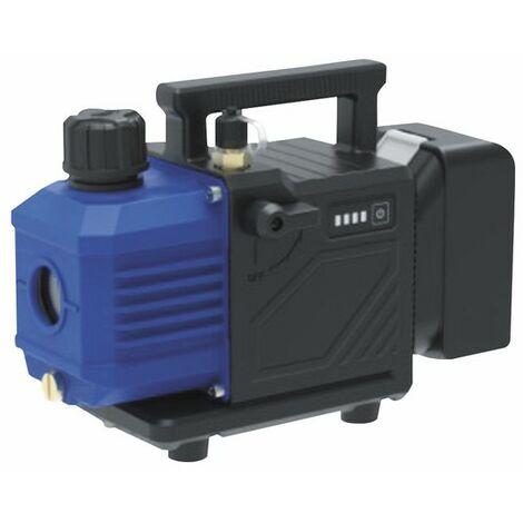 Pompe à vide 2 étages R32 57l/min 15µ batterie/secteur - GALAXAIR : 2VP-57-R32-18V