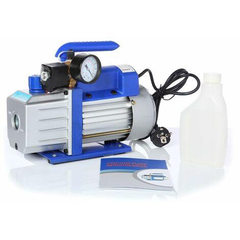 pompe à vide 71L/min avec manomètre à cadran pompe de climatisation boîtier en aluminium poignée industrielle modèle air