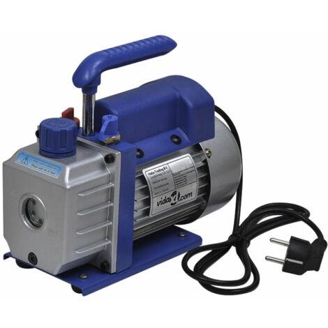 Pompe à vide simple étage 50 litres / min systèmes frigorifiques, machines d'impression, appareils médicaux - Jaune