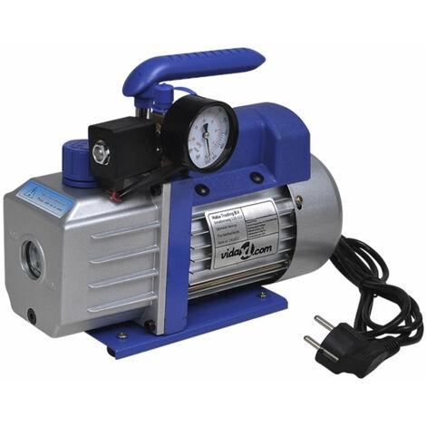 Pompe à vide simple étage avec manomètre 71 litres / min systèmes frigorifiques, machines d'impression, appareils médicaux - Jaune