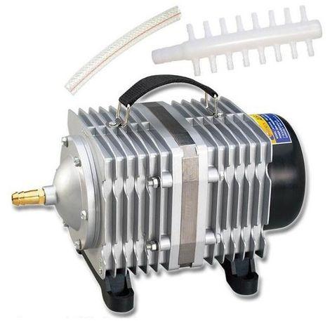 Pompe aquarium 520W 200L / Min compresseur de à air électromagnétique poisson augmentation la capacité du réservoir d'oxygène dé