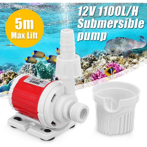 Pompe Aquarium Poissons réservoir à Eau Marine économie D'énergie Submersible Contr?lable Réglable Vitesse