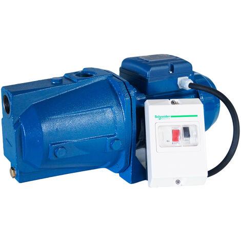 Pompe auto amorçante série JET 380V 0.75kW / 1cv avec disjoncteur magnéto thermique