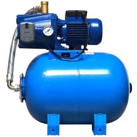Pompe avec surpresseur 50L - 230V - 2m3/h - 3 bars