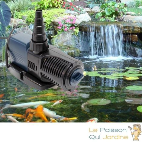 Pompe bassin de jardin économique 12000 l/h. Puissante et silencieuse