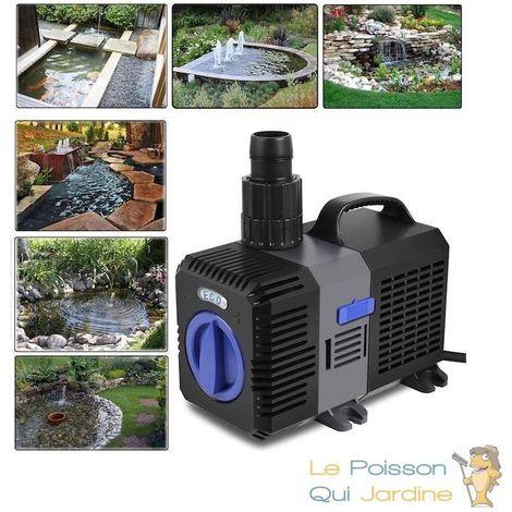 Pompe bassin de jardin HYPER ECO 5200 l/h 40W