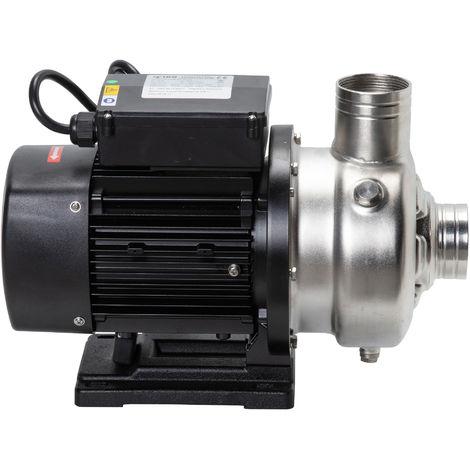 Pompe centrifuge F-CPM 27 INOX 3000W 400V 740 L/min eaux chargées