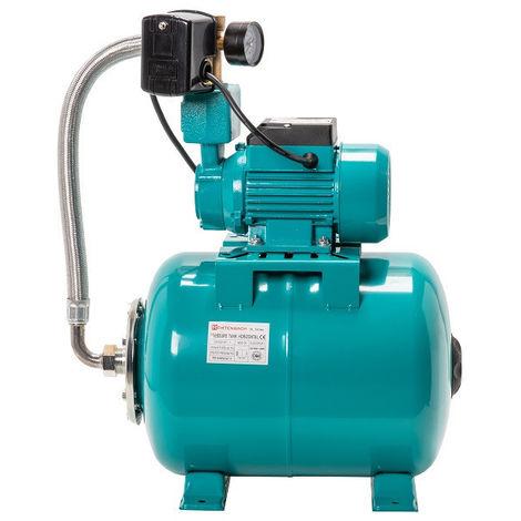 Pompe d'arrosage JT250 250W 230V 30l/min avec ballon surpresseur 24L