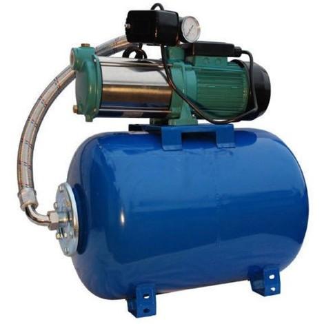 Pompe d'arrosage POMPE DE JARDIN pour puits 1300W 100l/min avec ballon surpresseur 24L