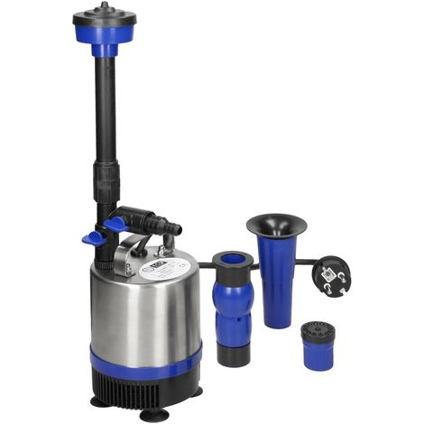 Pompe de bassin pour fontaine 50W 1750 L/h fontaine d'extérieur étang de jardin