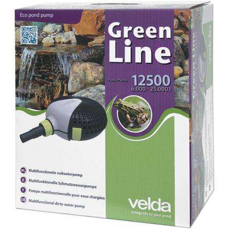 Pompe de bassin Velda Green Line 12500 110 Watt max. 5,5m 126597