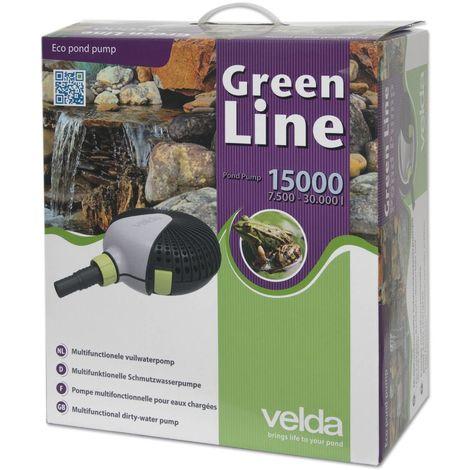 Pompe de bassin Velda Green Line 15000 135 Watt max 6.0m 126598