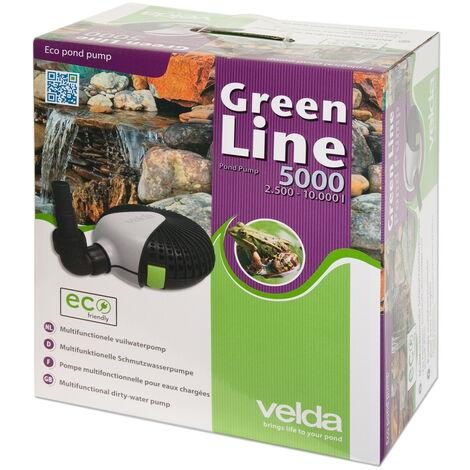 Pompe de bassin Velda Green Line 5000 40 watts max 3,5m 126595