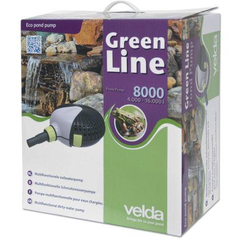 Pompe de bassin Velda Green Line 8000 70 watts max 4,5m 126596