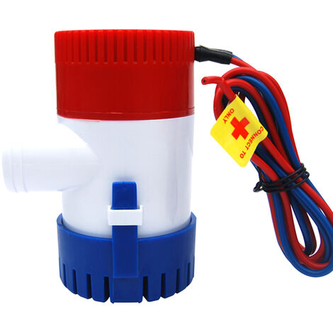 Pompe De Cale 750Gph Dc 12V Electrique Pompe A Eau Pour Aquario Submersible Hydravion Motor Homes Boats Bateau-Logement
