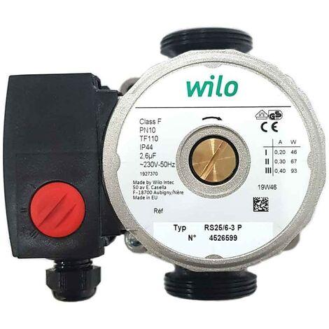 Pompe de circulation chauffage wilo WILO RS25/5-3P 130 mm
