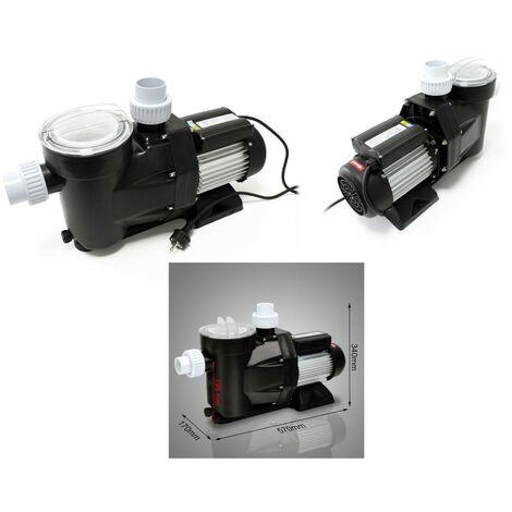 Pompe de filtration piscine 19200l/h - 750 w