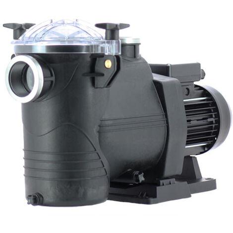 Pompe de filtration piscine astral europa 1 cv monophasée débit: 15.4m3/h