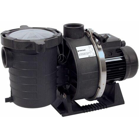Pompe de filtration piscine pentair ultra-flow 0.75 cv mono (0.55 kw) débit 13.8m3/h