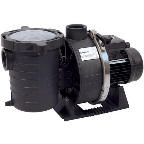Pompe de filtration piscine pentair ultra-flow 2 cv triphasée (1.5 kw) débit 26.8m3/h